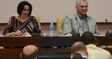 Díaz-Canel participa en balance de la Fiscalía General de la República